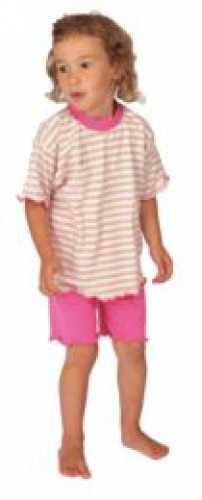 Shorty/Jersey-Schlafanzug kurz