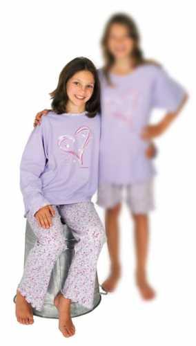 Jersey-Schlafanzug lang