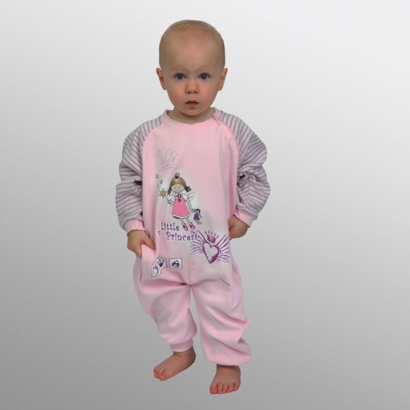 89bde4bfdeaf7b Frottee-Einteiler/Baby-Schlafanzug ohne Fuß