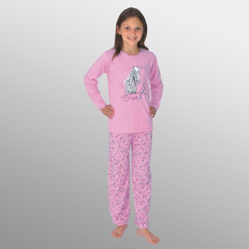 394e94c7cc PFERD ROSA SCHLAFANZUG GRÖßE 176   Kindermode online kaufen